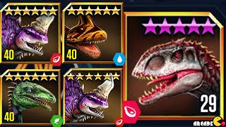 getlinkyoutube.com-Live Challenge With Hybrid Dinosaurs Stage Battle Free Rare Pack - Jurassic World The Game!