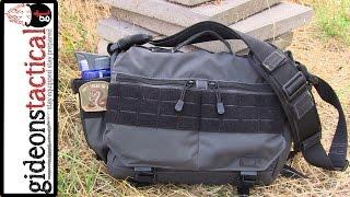 getlinkyoutube.com-5.11 Tactical Rush Mike Messenger Bag