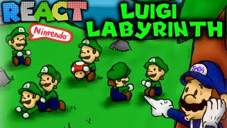 getlinkyoutube.com-LUIGIKID REACTS TO: SM64 BLOOPERS: LUIGI LABYRINTH by SMG4