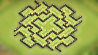 getlinkyoutube.com-Clash of clans - Town hall 9 (TH9) Farming base 2015 [Delusion] Speed build