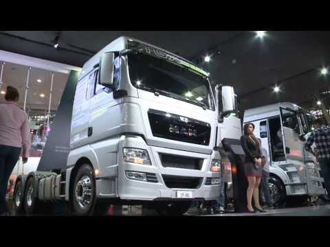 A opinião dos visitantes sobre os caminhões MAN e VW