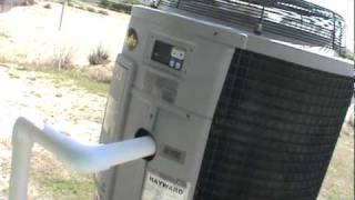 What not to do with a Hayward pool heater heat pump 001.MPG