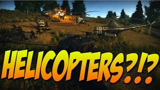 getlinkyoutube.com-HELICOPTERS IN WAR THUNDER? - War Thunder Custom Mission