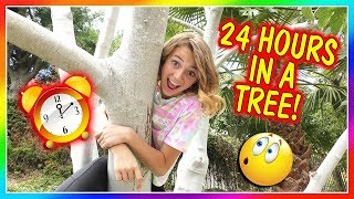 24 HOURS OF LIVING IN A TREE! | We Are The Davises