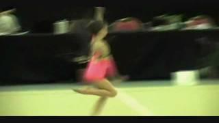getlinkyoutube.com-6 Year Old Kaylee Rhythmic Gymnastics Level 4 National Silver Medalist