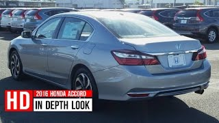 2016 Accord Sport In Depth Walkaround Interior Exterior Startup Engine Trunk