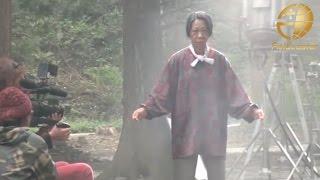 getlinkyoutube.com-おばあちゃんが次々に敵をなぎ倒す本格アクション映画『 Go! Hatto 登米無双』メイキング