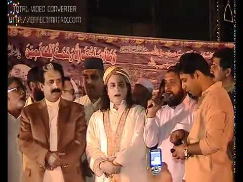Part 3.Haq Khatib Hussain Ali Badshah Sarkar on Mehfil-e-Milad_at Jhanda_ Rawalpindi..flv