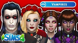 getlinkyoutube.com-DRACULA & HIS BRIDES | The Sims 4 VAMPIRES Create a Sim