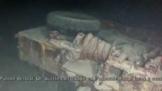 getlinkyoutube.com-DUKW Relitto Lago di Garda - DUKW wreck Lake Garda