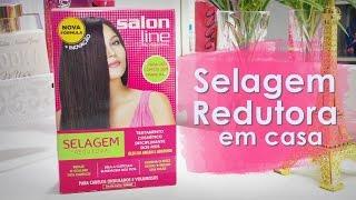 Como faço selagem redutora em casa - Salon Line