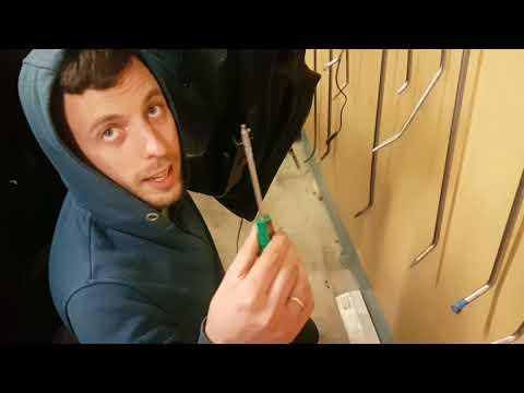 Снятие ручки на BMW F01, F02