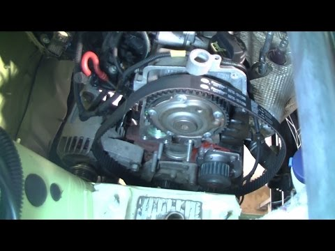 Fiat/Ford 1.2l Replacing timing belt and water pump