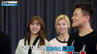 getlinkyoutube.com-[V.LIVE]JYP 단체곡 개별파트 쟁탈전 - Jihyo Sana TWICE 트와이스