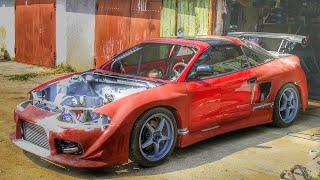 getlinkyoutube.com-Mitsubishi Eclipse 2G GSX (side air intake)