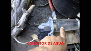 getlinkyoutube.com-Molino para fuente de agua con Bomba casera