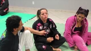 Confraternização do jiu-jitsu feminino