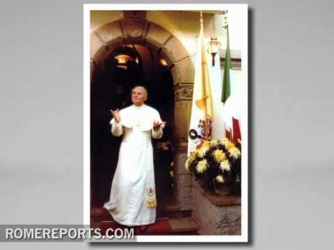 Best pictures of John Paul II in Mexico announced