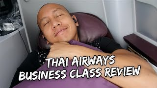 THAI AIRWAYS BUSINESS CLASS REVIEW | Vlog #193