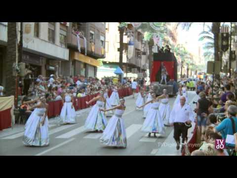 Desfile Capitania Cristiana - Entrada de Moros y Cristianos - Ontinyent 2012