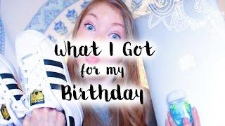 getlinkyoutube.com-▲What I got for my Birthday▼