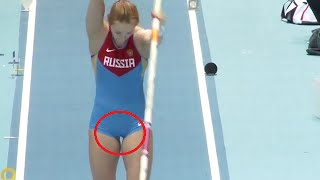 Russian Woman Pole Vaulter Comedy 77