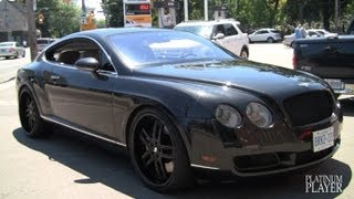 getlinkyoutube.com-BENTLEY CONTINENTAL GT on 22 INCH FORGIATO ESTREMO- TORONTO