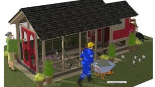 getlinkyoutube.com-SS101 _ Chicken Coop Plans Construction - Chicken Coop Design - How To Build A Chicken Coop