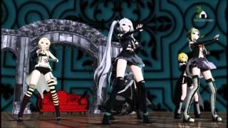 getlinkyoutube.com-【MMD】 Ikkitousen / 一騎当千【Vocaloid】