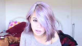 getlinkyoutube.com-How to get pastel hair (From dark Asian hair)