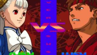 getlinkyoutube.com-Street Fighter Alpha 3 Max PSP Ingrid Gameplay