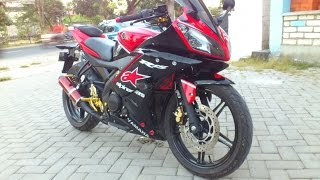 getlinkyoutube.com-Yamaha R15 Alpinestar Modif