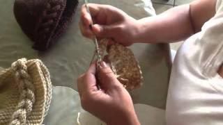 getlinkyoutube.com-Gorro de trenza de crochet