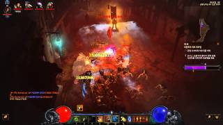 getlinkyoutube.com-Diablo III 2.3.0 대균열 40단계 부두술사 지옥니 마구 소환부두