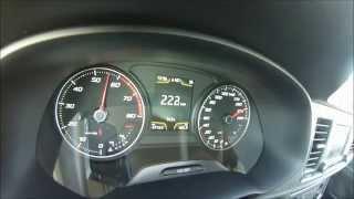 getlinkyoutube.com-Seat Leon 5F FR 1.8TSI 180 acceleration 0-238 km/h Sound