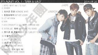 getlinkyoutube.com-[HQ] BTS - 'DARK & WILD' VOL. 1 (FULL ALBUM) [PLAYLIST]