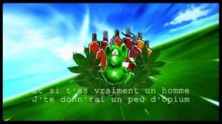 | PARODIE | Une souris verte qui fumait de l'herbe...