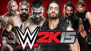 getlinkyoutube.com-WWE 2K15: Evolution Vs. The Shield [6-Man Tag Team Match] - Xbox One Gameplay, Commentary