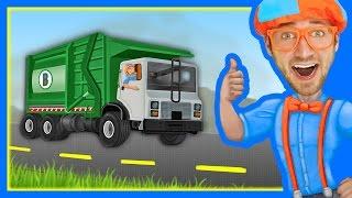 getlinkyoutube.com-The Garbage Truck Song by Blippi | Songs for Kids