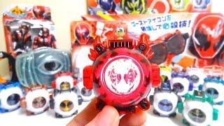 getlinkyoutube.com-【仮面ライダーゴースト】光る!鳴る!DX闘魂ブーストゴーストアイコンヲタファの遊び方レビュー Kamen Rider Ghost DX Toukon Boost Ghost Eyecon review