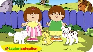 getlinkyoutube.com-Kutahu Nama Satwa (anjing, kucing, kelinci) - Kastari Animation Official