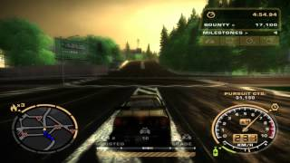 getlinkyoutube.com-Need for Speed Most Wanted - Nissan Skyline - Cop Chase - City Mod v2 HD