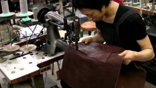 getlinkyoutube.com-手作り鞄工房HERZ(ヘルツ) | とある日の製作の様子。