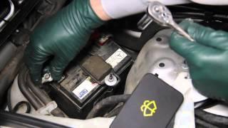 getlinkyoutube.com-1996 to 2006 Mercedes Benz Part 16: Sensotronic Brakes Backup Battery