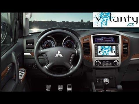 How to remove steering wheel + AIRBAG Mitsubishi Pajero mk4 2006+   VOLANTY.CZ
