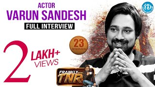 getlinkyoutube.com-Actor Varun Sandesh Exclusive Interview - Frankly With TNR # 23 || Talking Movies With iDream #166