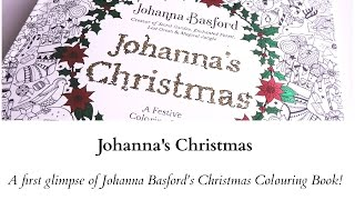 getlinkyoutube.com-Johanna's Christmas - A first impression and flip through