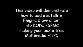 getlinkyoutube.com-Vu+ / Enigma2 client set up in Kodi
