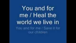 getlinkyoutube.com-michael jackson - heal the world lyrics