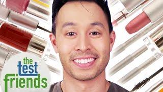 getlinkyoutube.com-Men Wear Makeup For A Week • The Test Friends
